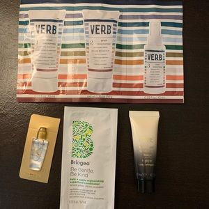 High end Hair care sample bundle